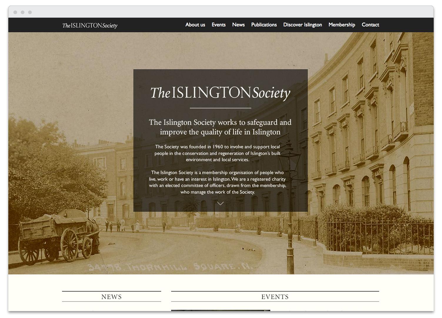 IslingtonSociety-Browser-home