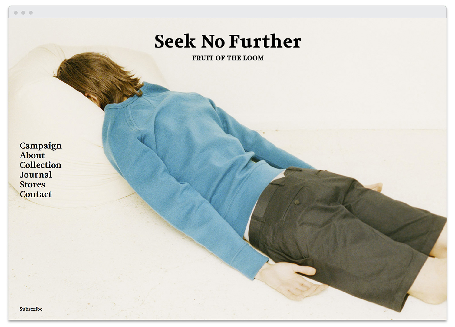 SeekNoFurther-homepage